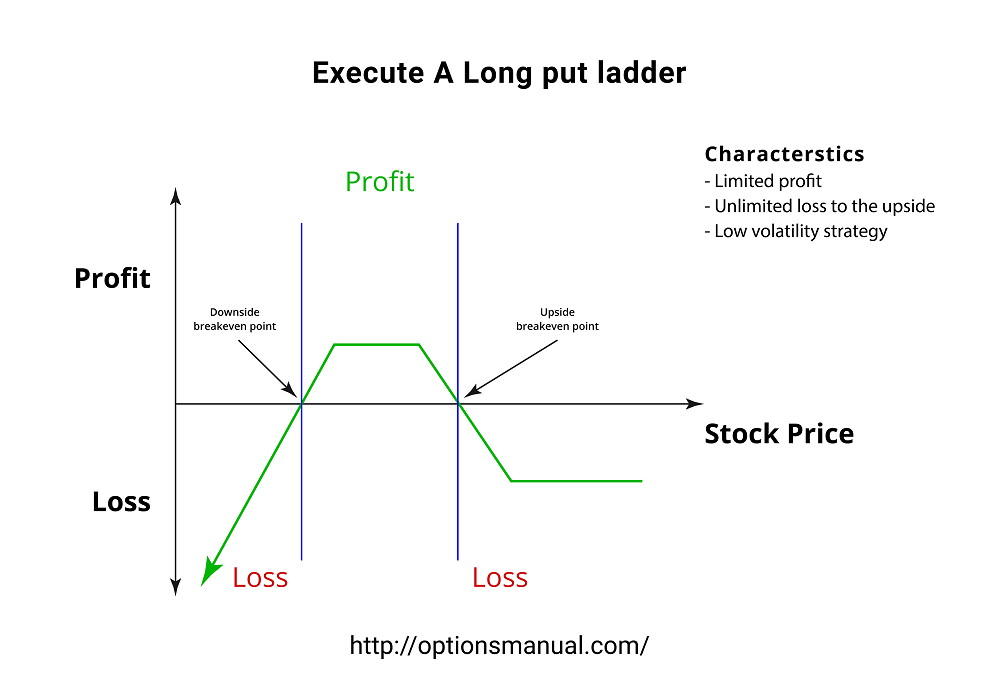 Execute A Long put ladder
